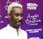 """Nathan Stewart-Jarrett attends The American Associates of the National Theatre's Gala celebrating Tony Kushner's """"Angels in America"""" on March 11, 2018 at the Ziegfeld Ballroom,  in New York City."""