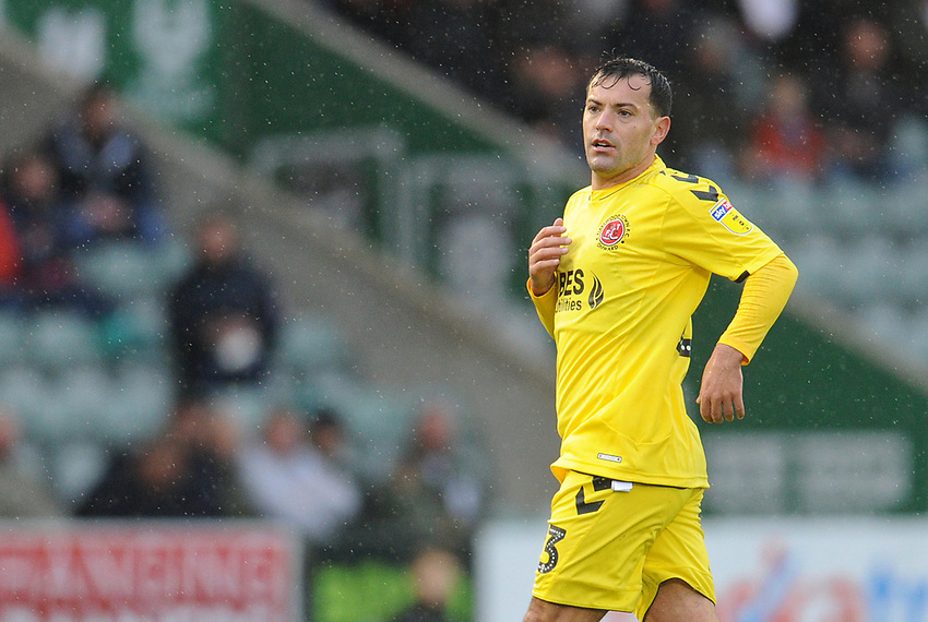 Fleetwood Town's Ross Wallace<br /> <br /> Photographer Kevin Barnes/CameraSport<br /> <br /> The EFL Sky Bet League One - Plymouth Argyle v Fleetwood Town - Saturday 24th November 2018 - Home Park - Plymouth<br /> <br /> World Copyright © 2018 CameraSport. All rights reserved. 43 Linden Ave. Countesthorpe. Leicester. England. LE8 5PG - Tel: +44 (0) 116 277 4147 - admin@camerasport.com - www.camerasport.com