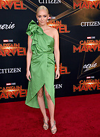 "LOS ANGELES, CA. March 04, 2019: Pom Klementieff at the world premiere of ""Captain Marvel"" at the El Capitan Theatre.<br /> Picture: Paul Smith/Featureflash"