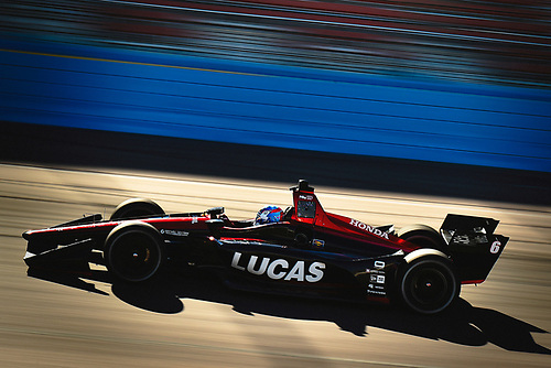 2018 Verizon IndyCar Series Phoenix testing<br /> Phoenix Raceway, Avondale, Arizona, USA<br /> Thursday 8 February 2018<br /> Robert Wickens, Schmidt Peterson Motorsports Honda<br /> World Copyright: Scott R LePage/LAT Images<br /> ref: Digital Image _SRL2910