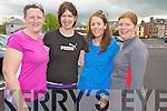 Enjoying the Hospice walk in Killorglin on Friday were Bereda O'Sullivan, Noreen McGillycuddy, Laura O'Brien and Helena Buckley, all Killorglin.