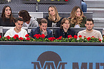 Lucas Vazquez, Sergio Ramos, Luka Modric and Mateo Kovacic of Real Madrid during the Mutua Madrid Open Tennis 2017 at Caja Magica in Madrid, May 12, 2017. Spain.