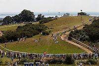 London Prepares Mountain Bike Olympic Test Event , Hadleigh Farm , Essex , July 2011 pic copyright Steve Behr / Stockfile