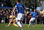 Kal Naismith scores the opener for Rangers