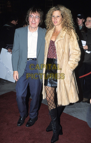 """BILL WYMAN & WIFE.""""Fashion Rocks Party"""", Babylon, Kensington.full length, full-length.www.capitalpictures.com.sales@capitalpictures.com.© Capital Pictures."""