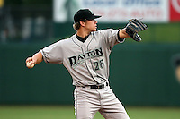 June 13th 2008:  Brandon Waring of the Dayton Dragons, Class-A affiliate of the Cincinnati Reds, during a game at Stanley Coveleski Regional Stadium in South Bend, IN.  Photo by:  Mike Janes/Four Seam Images