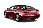 Car pictures of rear three quarter view of 2016 Nissan Maxima Platinum 4 Door Sedan Angular Rear