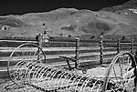 Hay rake, Cant ranch musuem, Oregon