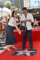 LOS ANGELES, CA. August 22, 2018: Simon Cowell & Ana Martinez at the Hollywood Walk of Fame Star Ceremony honoring Simon Cowell.