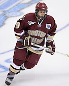Nathan Gerbe - The Boston College Eagles defeated the University of North Dakota Fighting Sioux 6-5 on Thursday, April 6, 2006, in the 2006 Frozen Four afternoon Semi-Final at the Bradley Center in Milwaukee, Wisconsin.