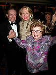 Dr. Ruth Westheimer and Liz Smith with Jerry Herman attending the Opening Night performance for<br />LA CAGE aux FOLLES at the Marquis Theatre in New York City.<br />December 9, 2004