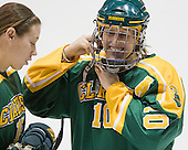 Danielle Boudreau (Clarkson - 10) - The Northeastern University Huskies defeated the visiting Clarkson University Golden Knights 5-2 on Thursday, January 5, 2012, at Matthews Arena in Boston, Massachusetts.