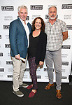 "Dougles Sills, Karen Ziemba and Tom Hewitt attends the Opening Night of The Gingold Theatrical Group production of Bernard Shaw's ""Caesar & Cleopatra"" at Theatre Row Theatre on September 24, 2019 in New York City."