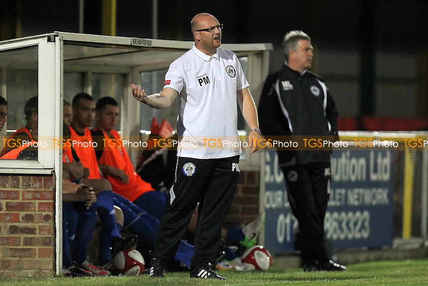 Romford manager Paul Martin - Romford vs Waltham Forest - FA Cup Preliminary Round Football at Ship Lane, Thurrock FC - 24/08/12 - MANDATORY CREDIT: Gavin Ellis/TGSPHOTO - Self billing applies where appropriate - 0845 094 6026 - contact@tgsphoto.co.uk - NO UNPAID USE.