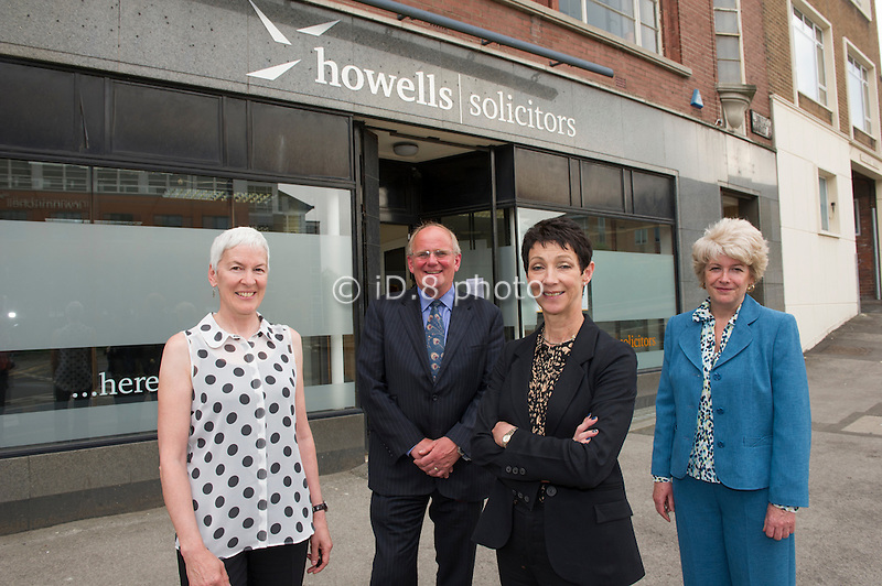 L-R Sue Colven (Partner, Howells), David Hawkins (Barrister Bank House Chambers), Janet Wojtkow (Director of Child Manitance Operations DWP) and Alison Siddall (Partner, Howells)