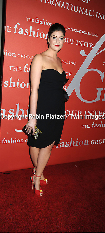 Maria Giulia Maramotti attends the Fashion Group International's 29th Annual  Night of Stars Gala on October 25, 2012 at Cipriani Wall Street in New York City.