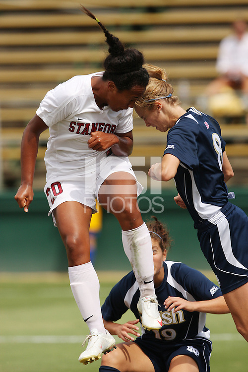 SANTA CLARA, CA - SEPTEMBER 13:  Mariah Nogueira of the Stanford Cardinal during Stanford's 2-0 win over Notre Dame on September 13, 2009 at Buck Shaw Stadium in Santa Clara, California.