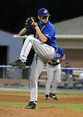 July 28, 2003:  Pitcher Bubbie Buzachero (4) of the Auburn Doubledays, Class-A affiliate of the Toronto Blue Jays, during a game at Dwyer Stadium in Batavia, NY.  Photo by:  Mike Janes/Four Seam Images