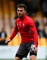 Lincoln City's Lee Frecklington during the pre-match warm-up<br /> <br /> Photographer Andrew Vaughan/CameraSport<br /> <br /> The EFL Sky Bet League Two - Port Vale v Lincoln City - Saturday 13th October 2018 - Vale Park - Burslem<br /> <br /> World Copyright © 2018 CameraSport. All rights reserved. 43 Linden Ave. Countesthorpe. Leicester. England. LE8 5PG - Tel: +44 (0) 116 277 4147 - admin@camerasport.com - www.camerasport.com