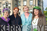 FRIENDS: Friends meet up at the Midsummer Night's Dream Play by the Chapterhouse Theatre Company in the Ballyseedy Castle Hotel, grounds on Sunday evening, l-r: Sylvia Thompson, Renuka Chilakwad, Carol Leen and Siobha?n Griffin (Tralee).............................................. ....