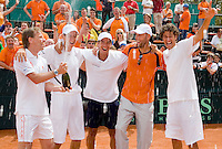 080411 Daviscup Macedonia-Netherlands