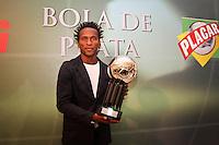 ATENÇÃO EDITOR: FOTO EMBARGADA PARA VEÍCULOS INTERNACIONAIS SÃO PAULO,SP,03 DEZEMBRO 2012 - BOLA DE PRATA 2012 - Zé Roberto do Gremio  durante a 43ª edição da Bola de Prata, premiação mais tradicional do futebol brasileiro.FOTO ALE VIANNA - BRAZIL PHOTO PRESS.