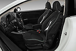 Front seat view of 2015 Alfaromeo Mito 600H-L-President-Line 4 Door Sedan Front Seat  car photos