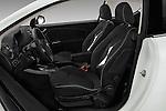 Front seat view of 2015 Alfaromeo Mito 600H-L-President-Line 4 Door Sedan Front Seat  car photos