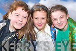 Musical Express: Abbeyfeale Stage School students Tanya Walsh, Mountcollins,.Rachel Duffy, Mountcollins and Emma Shine, Glin. Just some of the cast who.will perform Musical Express at the Tintean Theatre Ballybunion on Friday.29th March and Saturday March 30th..   Copyright Kerry's Eye 2008