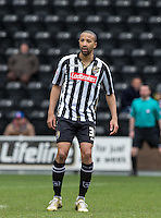 Thierry Audel of Notts County during the Sky Bet League 2 match between Notts County and Wycombe Wanderers at Meadow Lane, Nottingham, England on 28 March 2016. Photo by Andy Rowland.