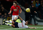 Manchester United's Daniel James (L) battles for the ball with Tottenham Hotspur's Harry Winks during the Premier League match at Old Trafford, Manchester. Picture date: 4th December 2019. Picture credit should read: Darren Staples/Sportimage