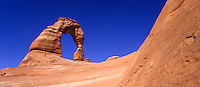 The famous Delicate Arch in Arches national park, Utah, USA