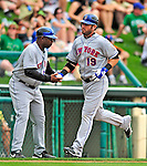17 March 2009: New York Mets' outfielder Ryan Church 'rounds the bases after hitting a solo home run during a Spring Training game against the Atlanta Braves at Disney's Wide World of Sports in Orlando, Florida. The Braves defeated the Mets 5-1 in the Saint Patrick's Day Grapefruit League matchup. Mandatory Photo Credit: Ed Wolfstein Photo