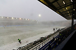 View from The George Hill Main Stand as Oldham attack. Oldham v Portsmouth League 1