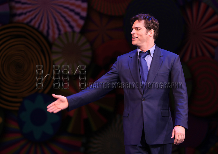 Harry Connick Jr..during the Opening Night Curtain Call for 'On A Clear Day You Can See Forever' at the St. James Theatre in New York City, 12/11/2011