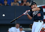 Reno Aces' Matt Davidson wins the Triple-A All Star Home Run Derby in Reno, Nev., on Monday, July 15, 2013. Davidson hit a total of 10 home runs in three rounds.<br /> Photo by Cathleen Allison