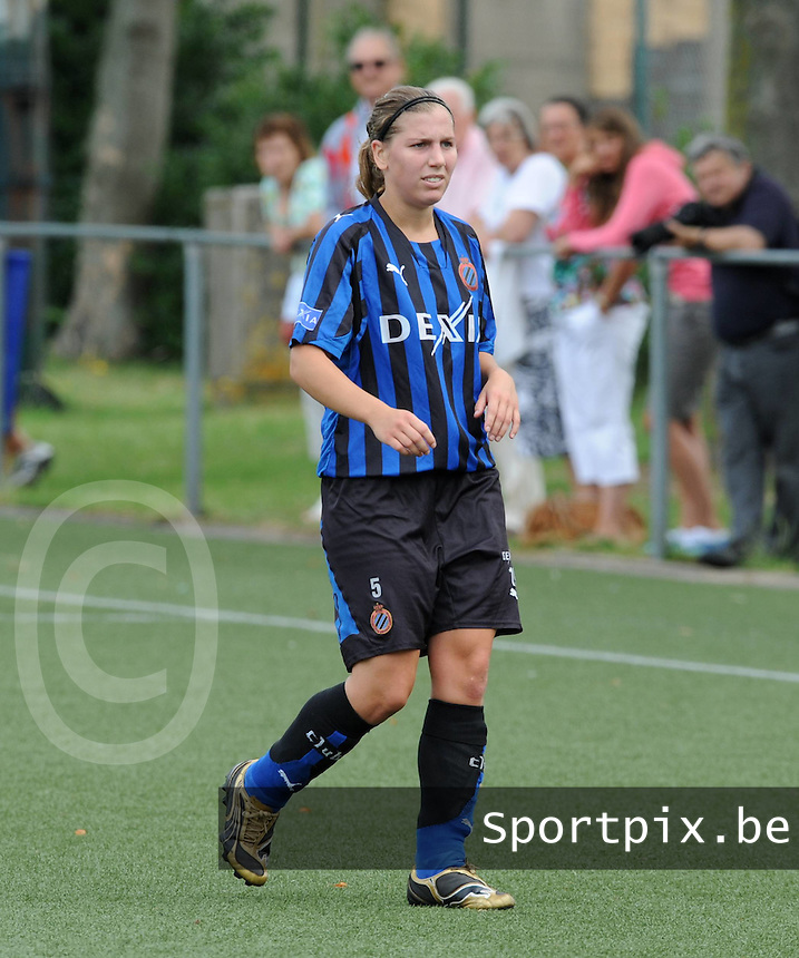 Dames Club Brugge : Lita Pouseele.foto VDB / BART VANDENBROUCKE