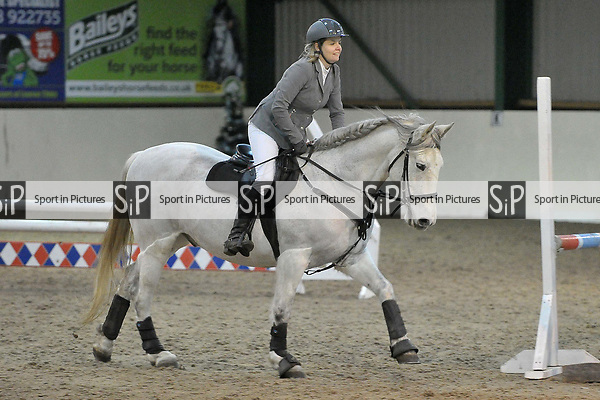 Class 7. 80cm. New year unaffiliated showjumping. Brook Farm Training Centre. Stapleford Abbotts. UK. 06/01/2018. ~ MANDATORY CREDIT Garry Bowden/Sport in Pictures - NO UNAUTHORISED USE - +44 7837 394578