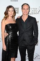 "LOS ANGELES - FEB 5:  Alejandra Guilmant, Tony Dalton at the ""Better Call Saul"" Season 5 Premiere at the Arclight Hollywood on February 5, 2020 in Los Angeles, CA"