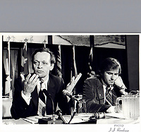 File Photo  - Jean Chretien, July 1980 (Exact date unknown)<br /> <br /> PHOTO  :  John Raudsepp<br />  - Agence Quebec Presse