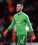 Manchester United goalkeeper David De Gea<br /> - Barclays Premier League - Bournemouth vs Manchester United - Vitality Stadium - Bournemouth - England - 12th December 2015 - Pic Robin Parker/Sportimage
