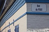 Europe/France/Picardie/80/Somme/Baie de Somme/ le Crotoy: Détail maison, rue du port