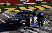 #18: Kyle Busch, Joe Gibbs Racing, Toyota Supra Extreme Concepts/iK9 celebrates his win