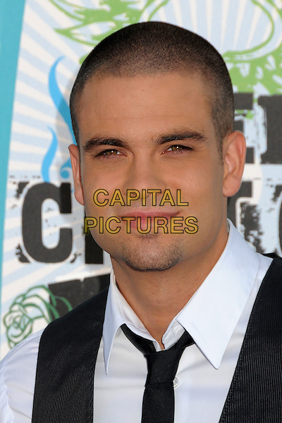 MARK SALLING.Teen Choice Awards 2010 - Arrivals held at Universal Studios Gibson Amphitheatre, Universal City, California, USA.August 8th, 2010.headshot portrait black white stubble facial hair .CAP/ADM/BP.©Byron Purvis/AdMedia/Capital Pictures.