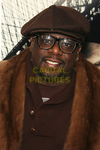 "CEDRIC THE ENTERTAINER (Cedric Antonio Kyles).The New York Premiere of ""Brooklyn's Finest"" held at the AMC Loews Lincoln Square Theatre, New York, NY, USA..March 2nd, 2010.headshot portrait black hat glasses goatee facial hair brown .CAP/LNC/TOM.©LNC/Capital Pictures."