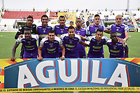 MONTERIA - COLOMBIA, 22-07-2018:  Jaguares FC y Once Caldas en partido por la fecha 1 de la Liga Águila II 2018 jugado en el estadio Municipal de Montería. / Jaguares FC and Once Caldas in match for the date 1 of the Liga Aguila II 2018 at the Municipal de Monteria Stadium in Monteria city. Photo: VizzorImage / Andres Felipe Lopez / Cont