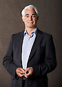 Alistair Darling,ex Chancellor of The Exchequer and Edinburgh based MP  and writer  at The Edinburgh International Book Festival   . Credit Geraint Lewis