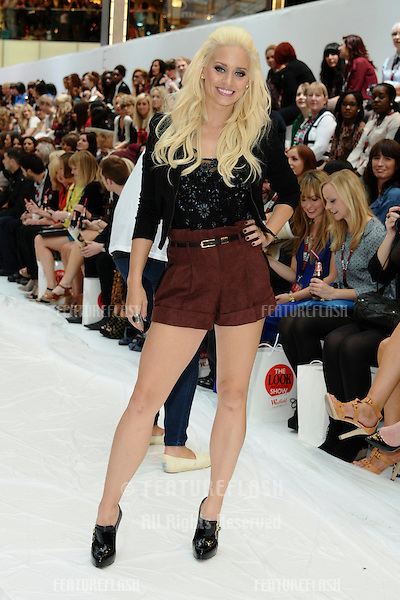 Kimberley Wyatt at the Look Magazine show spring/summer 2011 at Westfield Stratford, London. 17/09/2011 Picture by: Steve Vas / Featureflash