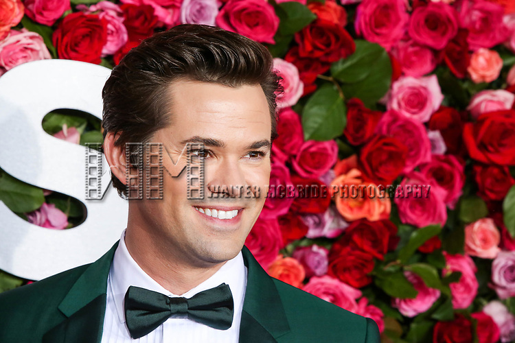NEW YORK, NY - JUNE 10:  Andrew Rannells attends the 72nd Annual Tony Awards at Radio City Music Hall on June 10, 2018 in New York City.  (Photo by Walter McBride/WireImage)