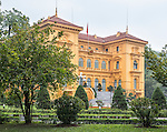 Originally built between 1900 and 1906 in Hanoi to house the French Governor-General of Vietnam, the building was taken over by the Communist government after the French were ousted from Vietnam in 1954. While state visitors were received there, Ho Chi Minh refused to live in such a magnificent building and instead built a small traditional house for himself nearby.